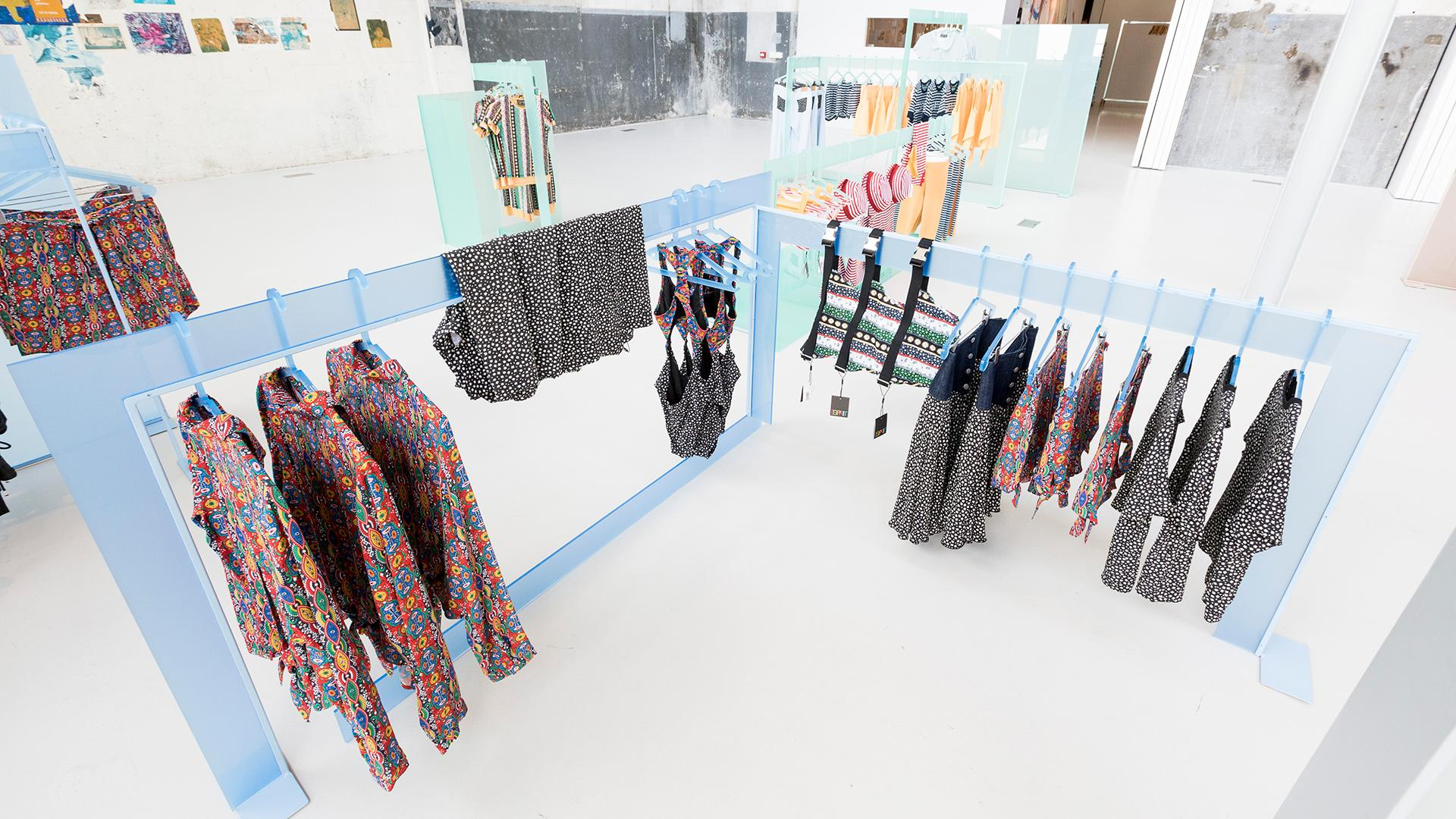 Frame Noman Studio Explodes The Design Box For Esprit X Opening Ceremony